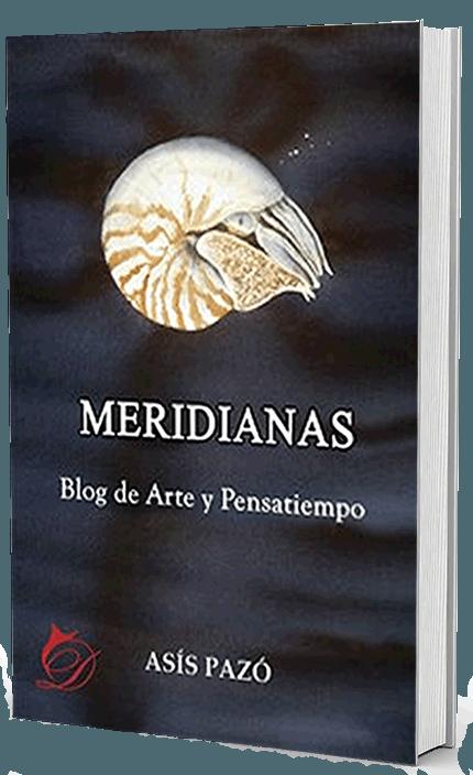 Portada de Meridianas, escrita por Asis Pazó
